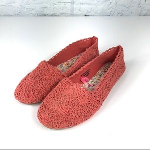 Crocheted 🧶 Coral Flats by Atmosphere